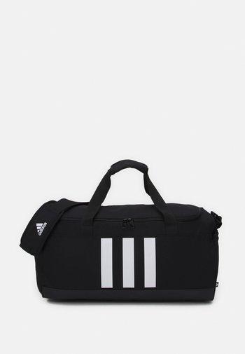 DUFFLE UNISEX - Sportovní taška - black/white