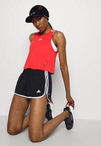 adidas Performance - M20 SHORT - Pantalón corto de deporte - black/white - 3
