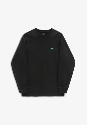 MN LEFT CHEST HIT LS - Long sleeved top - black/waterfall