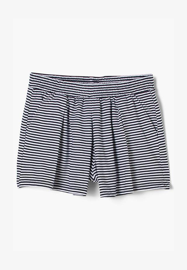 Shorts - navy stripes