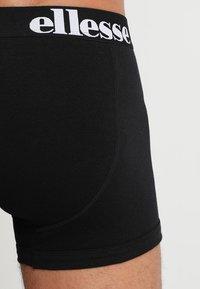Ellesse - HALI 3 PACK - Boxerky - black/grey/white - 2