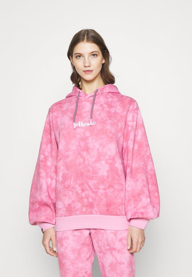 FLUO - Bluza z kapturem - pink