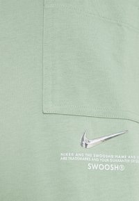 Nike Sportswear - Print T-shirt - steam/white - 2
