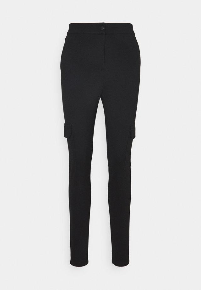 VMAIDY LEGGINGS - Cargo trousers - black