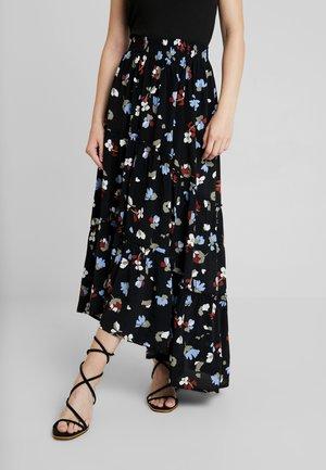 BOLINA - Maxi skirt - black
