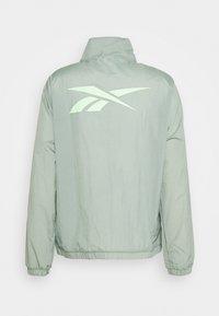 Reebok - OLLIE TRACK JACKET - Training jacket - green - 1