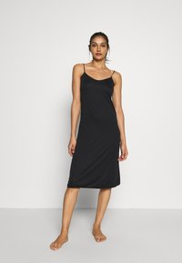 Marks & Spencer London - FULL SLIPS 2 PACK - Nightie - black mix - 0