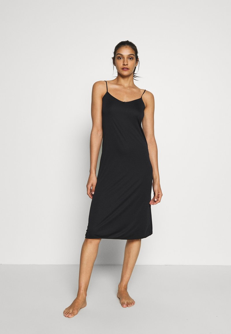 Marks & Spencer London - FULL SLIPS 2 PACK - Nightie - black mix