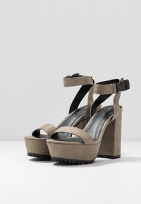 Even&Odd - High heeled sandals - oliv - 4