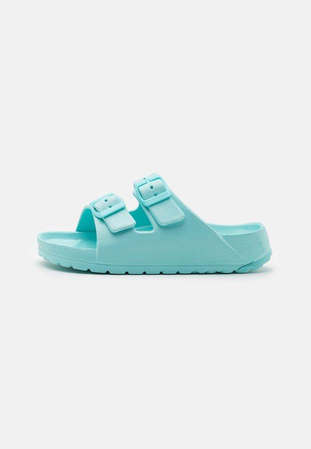 TWIN STRAP SLIDE UNISEX - Pantofle - dream blue