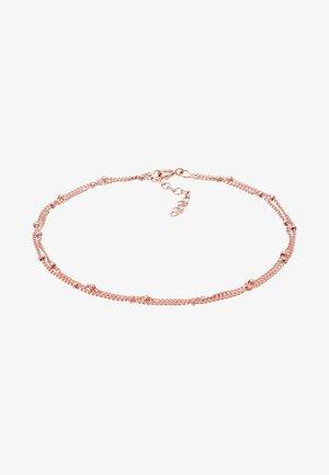 FUSSSCHMUCK KUGELKETTE  - Bracelet - rosegold