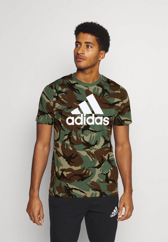 CAMO - T-shirt imprimé - khaki