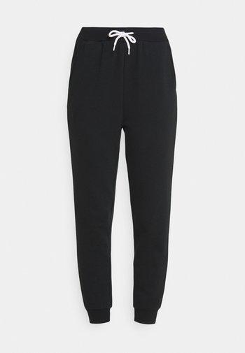 Slim Fit Joggers Contrast Cord - Pantaloni sportivi - black