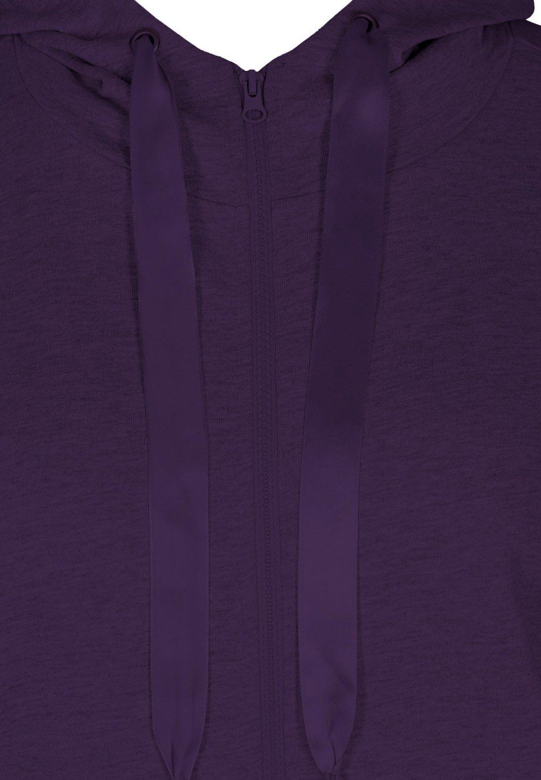 Active by Zizzi veste en sweat zippée - purple - Pulls & Gilets Femme GS0eT