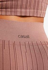 Casall - LINE - Legging - trigger pink - 4