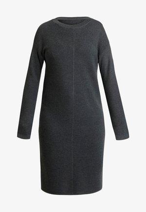 NIAKA - Jumper dress - dark grey melange