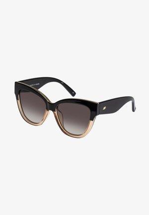 LE VACANZE - Sunglasses - black blonde splice / gold