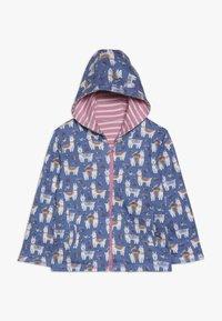 JoJo Maman Bébé - LLAMA REVERSIBLE HOODIE - veste en sweat zippée - rosa - 1