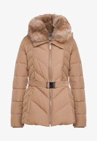 MICHAEL Michael Kors - FITTED PUFFER - Down jacket - dark camel - 5