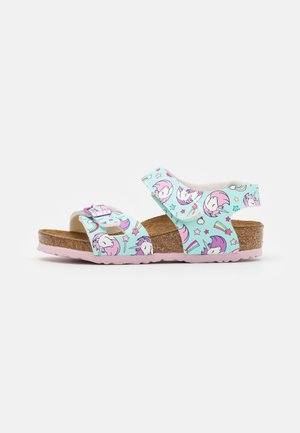 COLORADO KIDS UNICORN - Sandals - seafoam