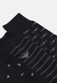 Emporio Armani - SHORT SOCKS 3 PACK - Socks - nero - 2