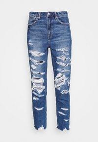 MOM - Jeans slim fit - indigo shatter