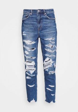MOM - Slim fit jeans - indigo shatter