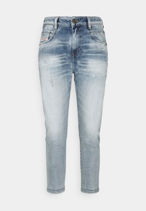 D-FAYZA - Relaxed fit jeans - light blue