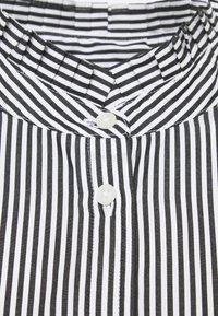 Lauren Ralph Lauren - 70S NON STRETCH - Button-down blouse - black/white - 6
