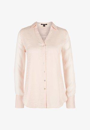Button-down blouse - salmon