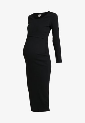 SIGNE DRESS - Maxi dress - black