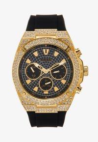 Guess - SWAROVSKI CRYSTALS - Ure - black/gold-coloured - 0