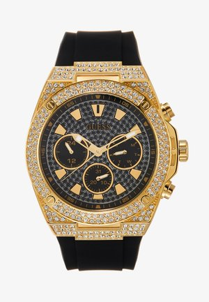 SWAROVSKI CRYSTALS - Watch - black/gold-coloured