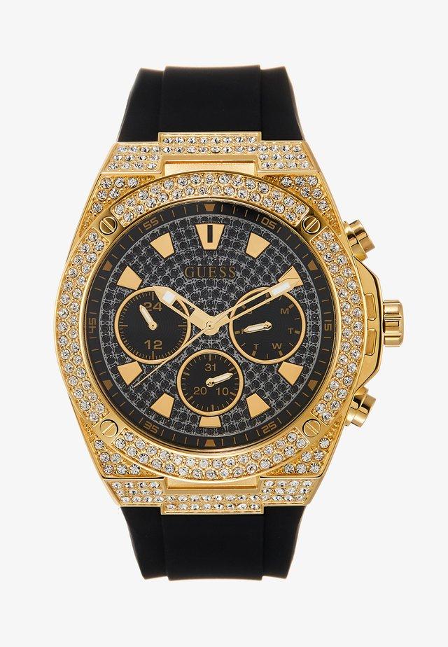 SWAROVSKI CRYSTALS - Horloge - black/gold-coloured