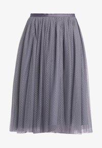 Needle & Thread - MIDI SKIRT - A-line skirt - vintage navy - 3