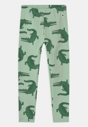 MINI CROCO UNISEX - Leggings - Trousers - light green