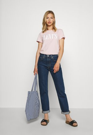 501® CROP - Jeansy Relaxed Fit - charleston pressed