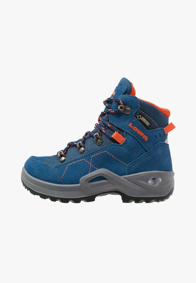 Lowa - KODY III GTX MIDJUNIOR UNISEX - Hiking shoes - blau/orange