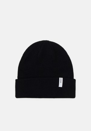 THE BEANIE  - Huer - black