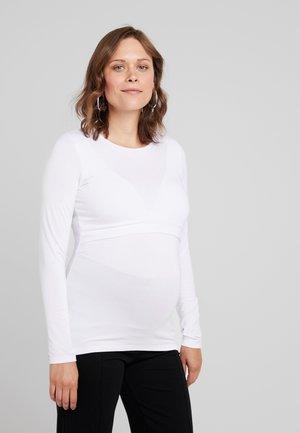 LAINA - Maglietta a manica lunga - white