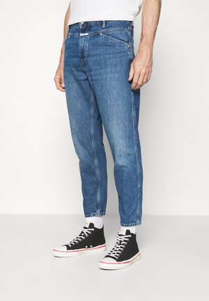 X-LENT TAPERED - Džíny Relaxed Fit - mid blue
