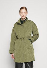 YAS - YASWENNA QUILTED  - Short coat - khaki - 0