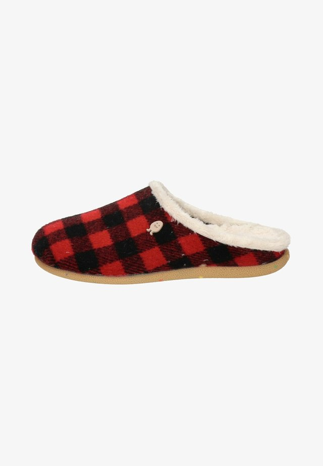 Pantoffels - rood