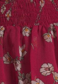 Vero Moda - VMWONDA SMOCK SHORT SKIRT - A-line skirt - tibetan red/eliza - 5