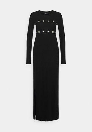 RASPERY - Vestido largo - black