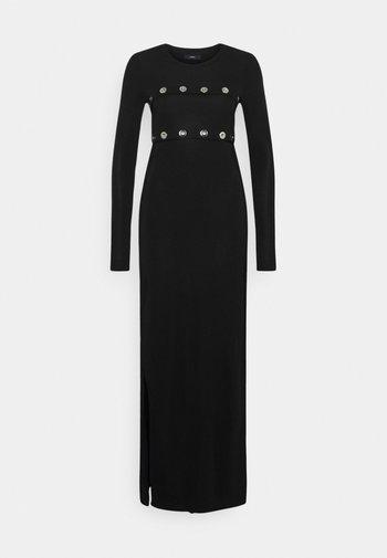RASPERY - Maxi dress - black