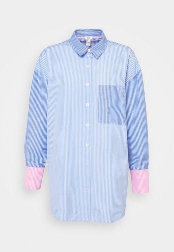 MARTINE - Blouse - blue stripe