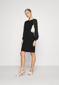 ONLY - ONLOFELIA DRESS - Neulemekko - black - 1