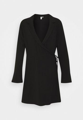 SOFT BLAZER DRESS - Day dress - black