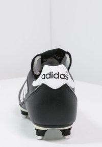 adidas Performance - KAISER 5 CUP - Nurmikengät - black/white/red - 3